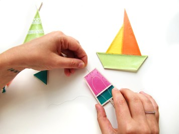 20 - DIY - mobile ete enfants - wundertute - glace fil