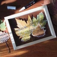 atelier diy automne feuilles - wundertute
