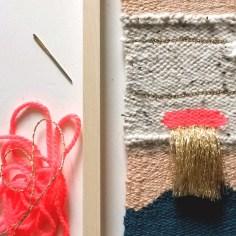 atelier tissage en cadre - wundertute