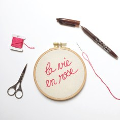 la vie en rose - vie atelier wundertute