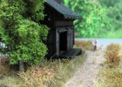 Güterschuppen Diorama