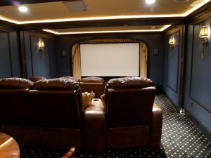 Hickory Wine Cellar Amp Home Theater WunderWoods