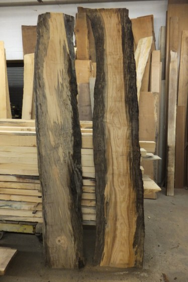 WunderWoods river recovered spalted maple live natural edge slabs