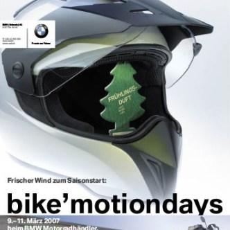 Mobilität: Eventbewerbung für bike'motiondays bei BMW Motorrad