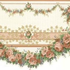 Wall Paper Borders For Kitchens Pop Up Electrical Outlets Kitchen Islands Rose Wallpaper Border 979b12101 Cameo Iv
