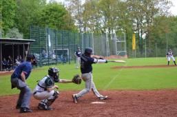 Baseball Wuppertal Stingrays vs Ennepetal Raccoons 29-04-2018 III