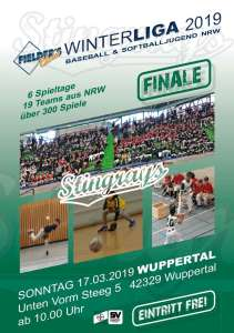 Baseball & Softball Jugend NRW - Fielders Choice Winterliga 2019 Finale