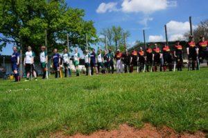 raging stingrays softball in Minden