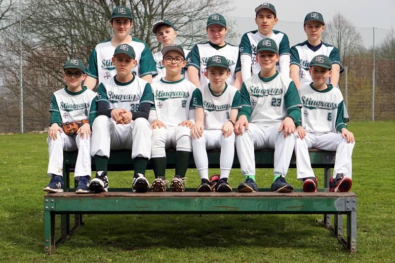 Baseball Wuppertal Stingrays Jugend 2019