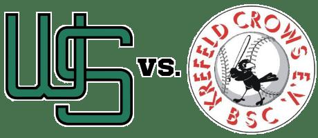 Baseball - Wuppertal Stingrays vs. Krefeld Crows