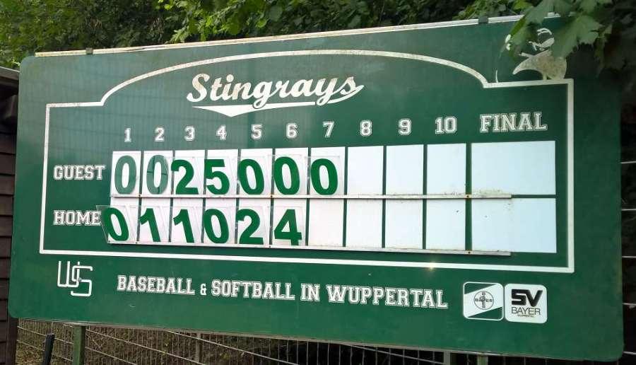 Baseball Herren - Wuppertal Stingrays versus Cologne Cardinals - Juni 2018