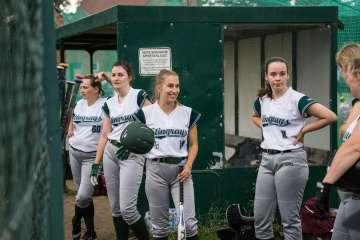 Rain Out beim ersten Auswärtsspiel der Softball Damen