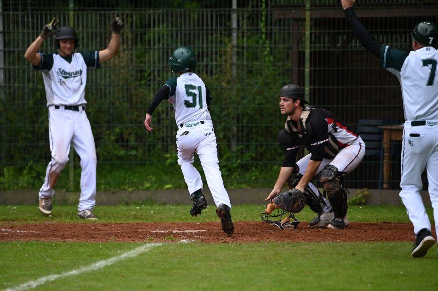 31.07.2021 - Zweite Baseball-Bundesliga Nordwest – Wuppertal Stingrays vs Neunkirchen Nightmares
