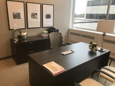 Office-desk-with-credenza