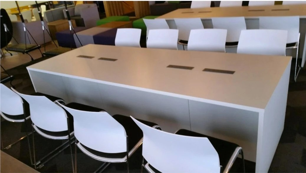 Casual Office Meeting Tables