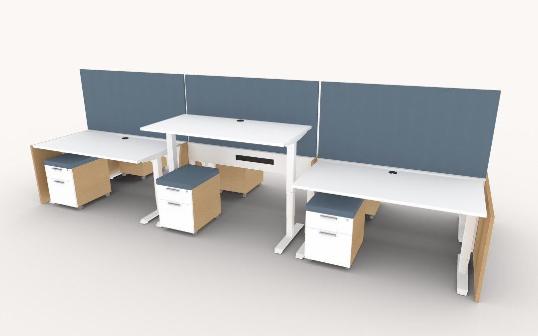 Height Adjustable Office Furniture System