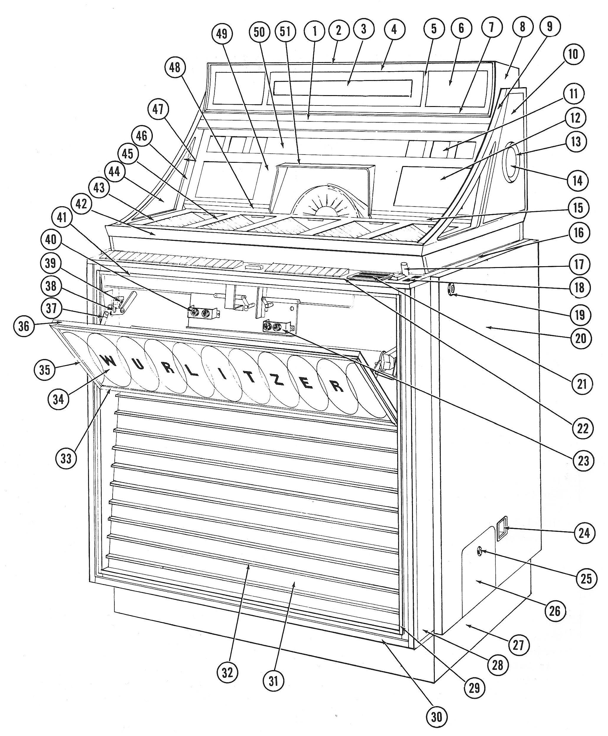 Wurlitzer Service Manual English