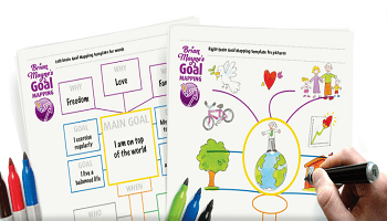 Goal Mapping by Brian Mayne Templates Image