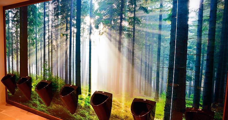 Led beleuchtung fr glasbilder  Glas pendelleuchte modern