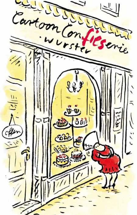 Nettetal Ausstellung Cartoon ConFIESerie Wurster
