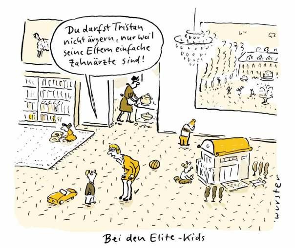 Elite Kindergarten Mobbing