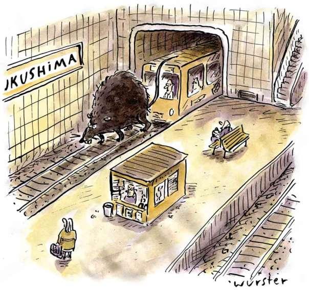 Supergau AKW Atomkraft Tsunami Atomkraft Japan
