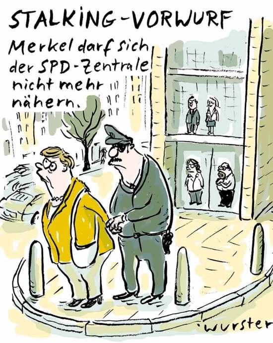 SPD CDU Gespräche Sondierung Große Koalition