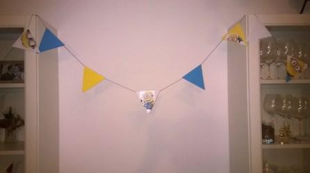 Minions Girlande Geburtstag Party Feier