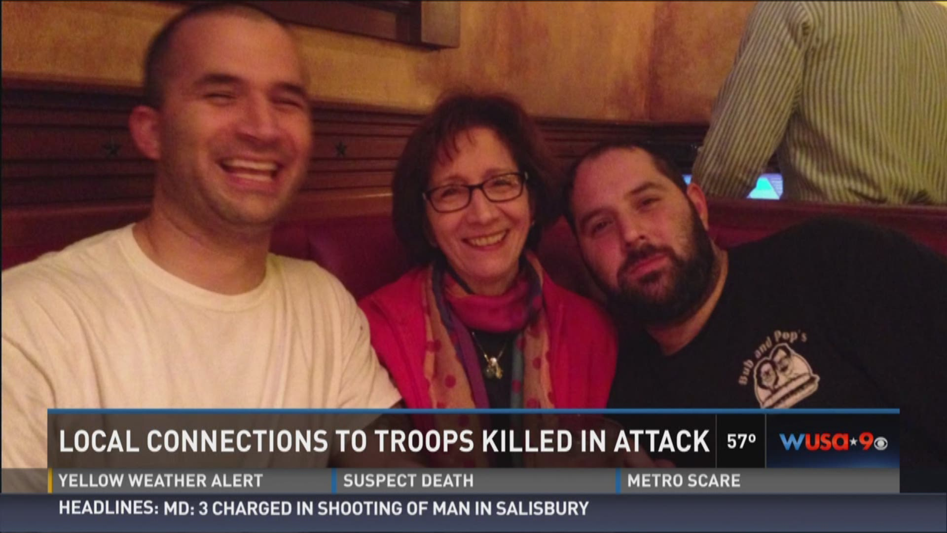 Two DMV-locals victim of Afghanistan suicide bombing