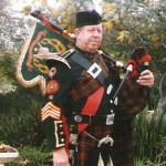 Pipe Major John H. Rosenberger