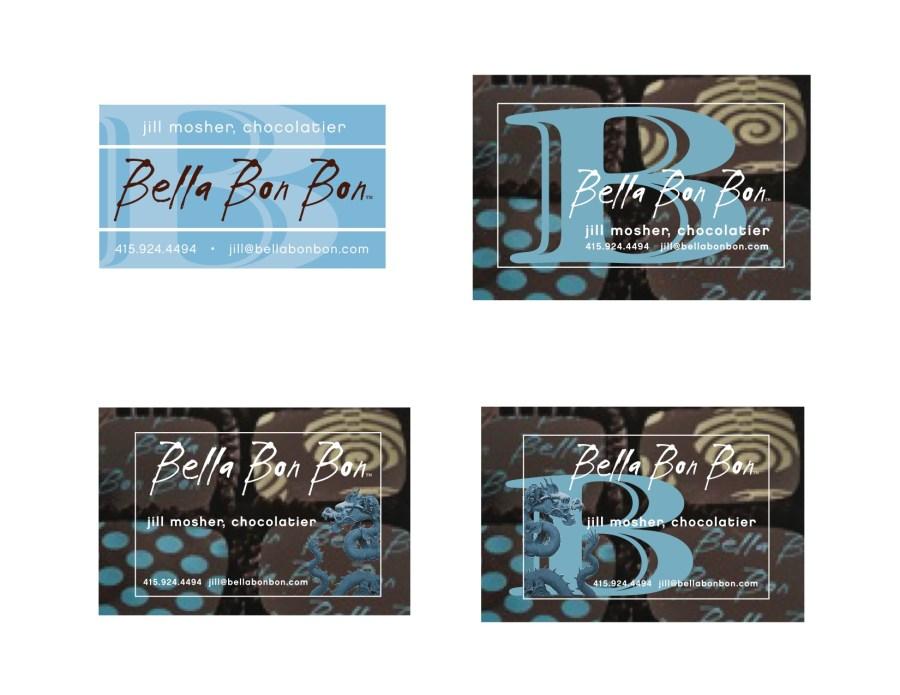 Bella Bon Bon branding