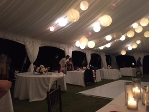event tables photo