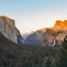 It is not hard to see why this is perhaps the most iconic view of Yosemite National Park, especially during sunset, where the setting sun lights up the icons of the Park