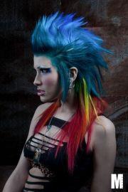 rainbow mohawk alexandra decuseara