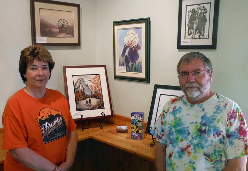 Brewster ArtWalk Display
