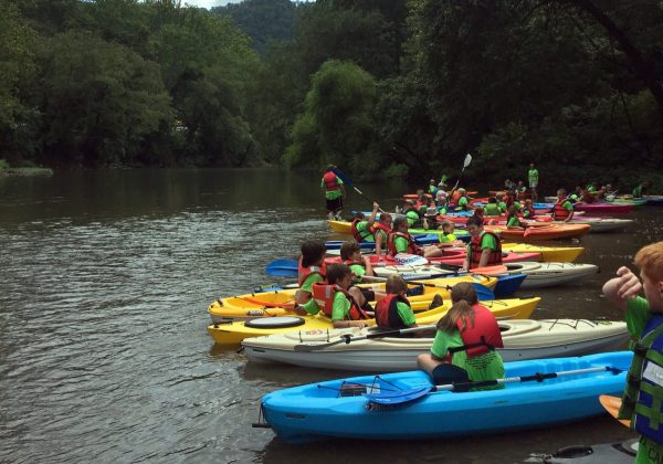Kayaks Opening Guyandotte Valley Exploration West - Year of