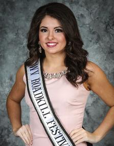 2018 WVAFF Queen's Pageant Photogenic Winner Cassidy Myers - Autumn Harvest/WV Road Kill Cook Off