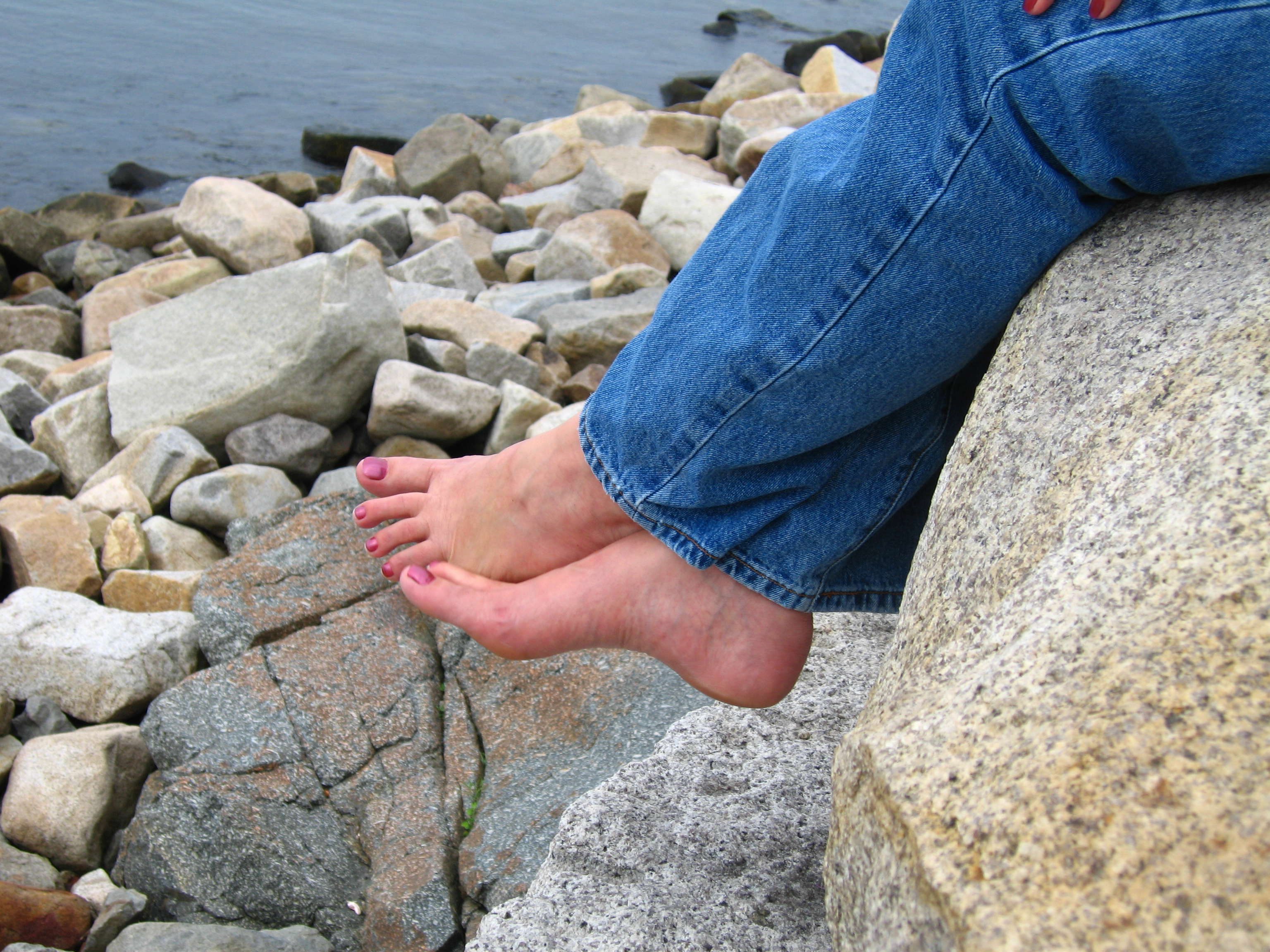 Barefoot in Massachusetts