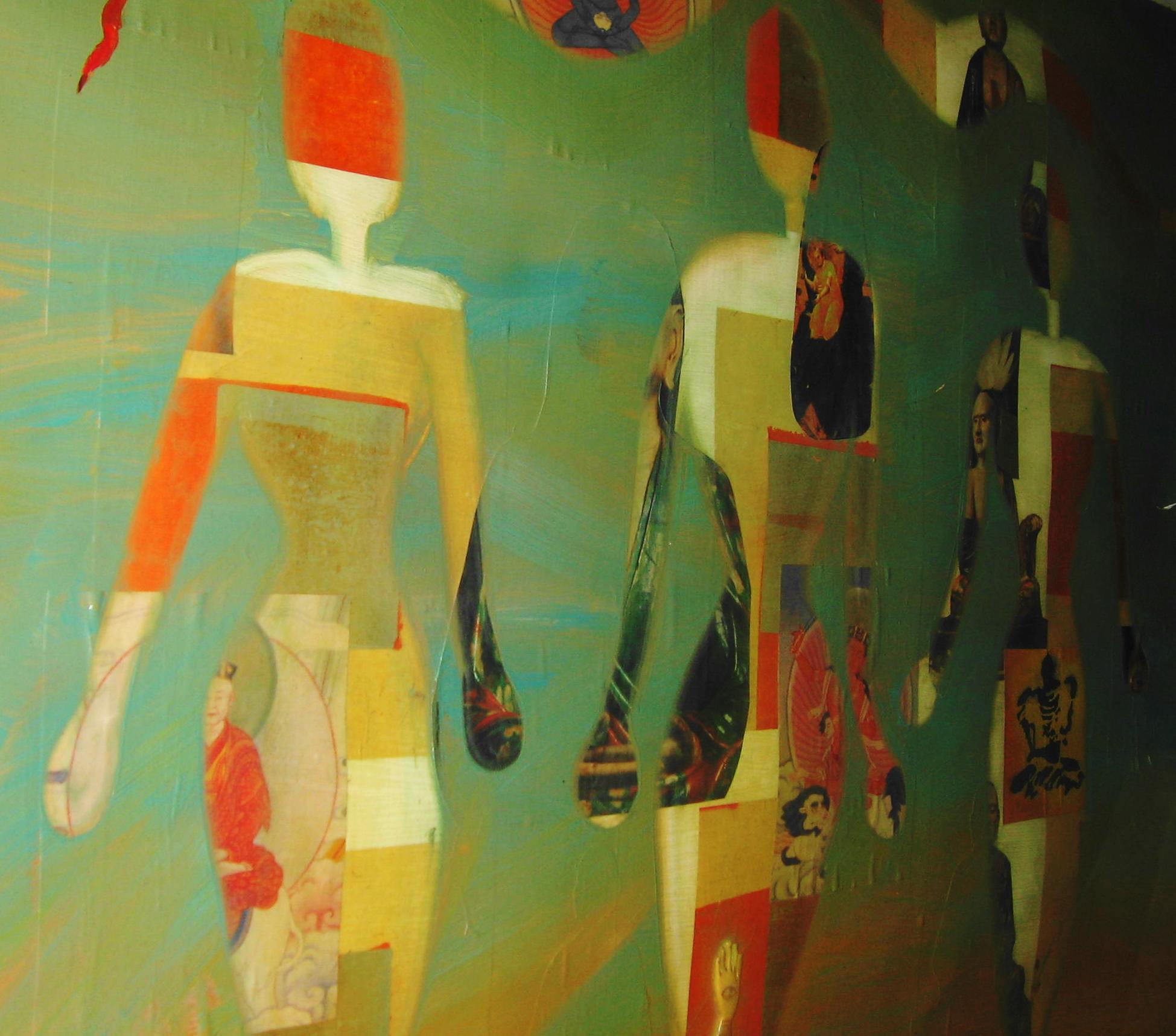 Sherri's Multimedia Painting