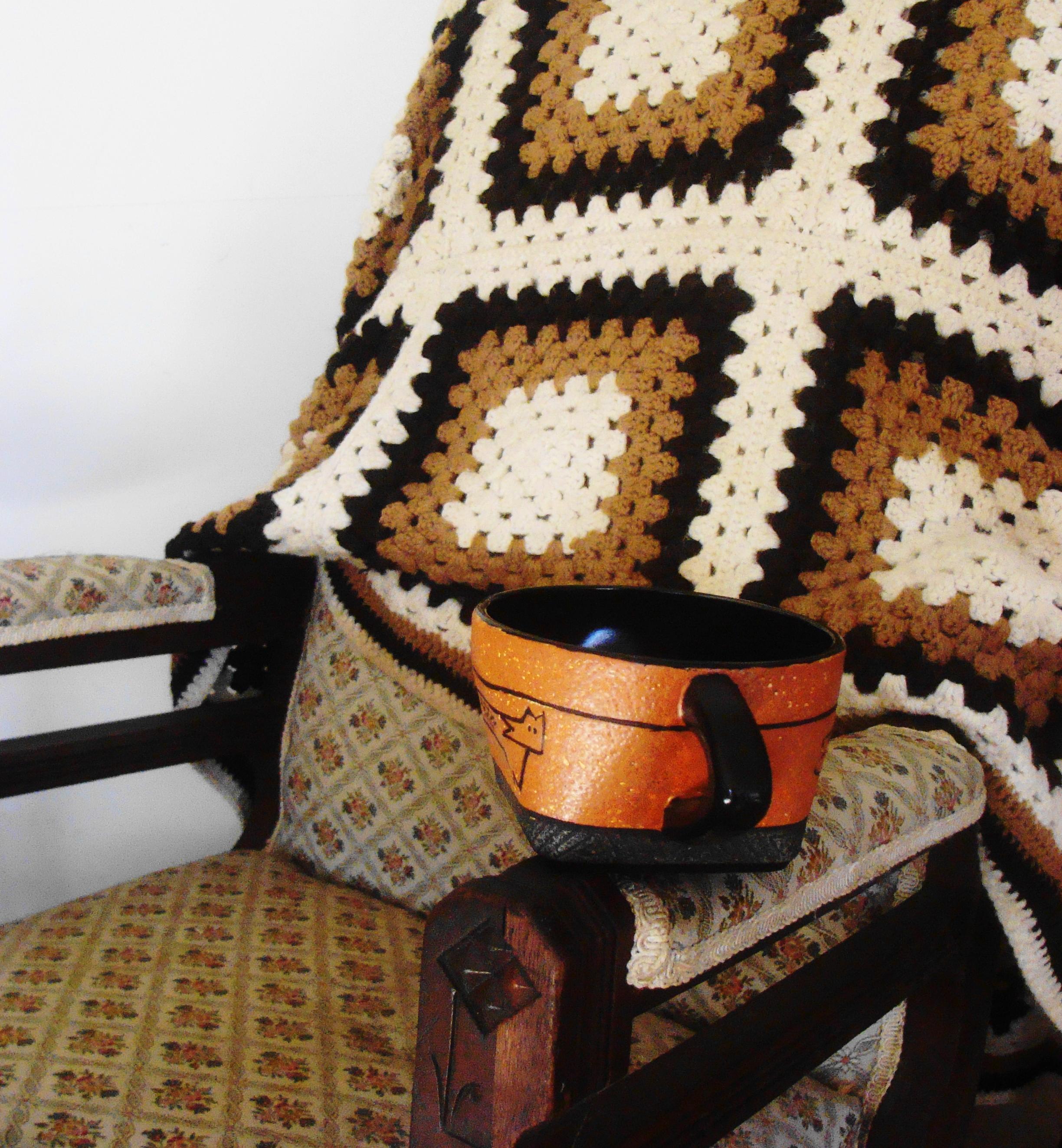 Tea often demands a good book and a comfortable rocking chair.