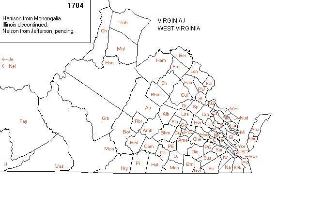 Wood County West Virginia Map