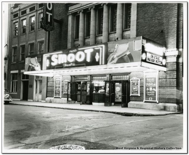 Historical photo of the Smoot Theatre
