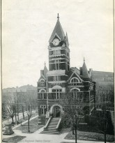 Harrison County Courthouse where the will of Mary Elizabeth Davis Hursey was probated