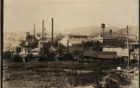 Image of the Hazel Atlas Glass Factory near where tragic accident happened which claimed lives of three men