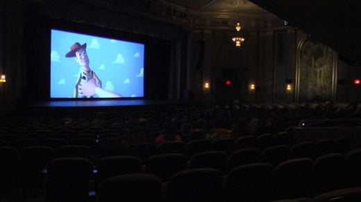 Paramount Theater Hosts Sensory Screening of Toy Story