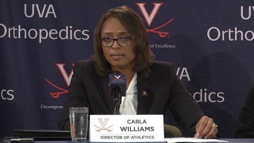 UVA Introduces New Athletics Director - WVIR NBC29 Charlottesville ...