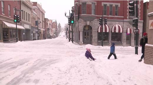 Staunton Offering Free Parking During Snow Storm  WVIR