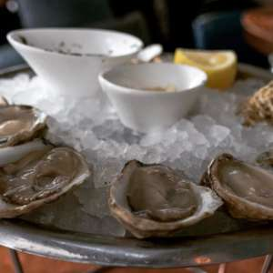A wee bit of #Food #Porn #NYC style  #Oysters via    - Wireless