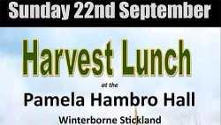 Harvest Lunch 2019 - Winterborne SticklandS