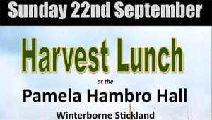 Harvest Lunch 2019 - Winterborne SticklandS